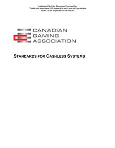 thumbnail of Cashless Wagering Standard Draft #1 -5.18.2020 For Industry Comment