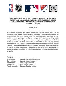 thumbnail of Leagues Joint Statement