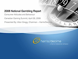 National Gambling Report 2008 CGA Presentation thumb